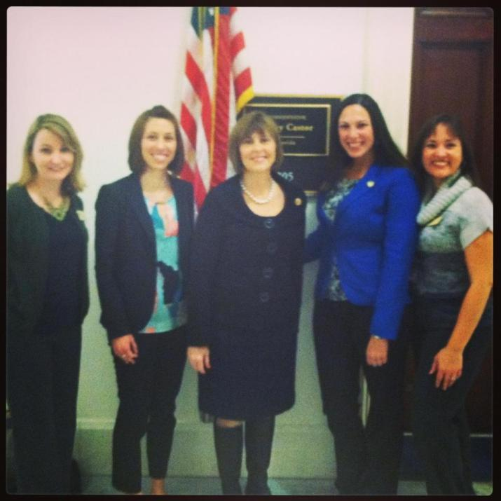 Advocacy Committee with Rep. Castor