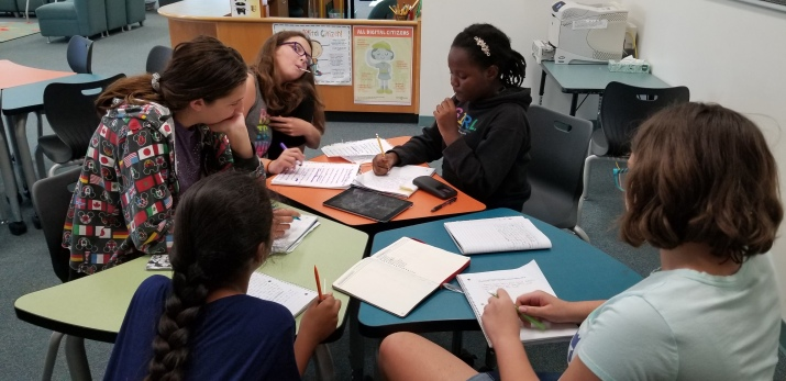 group writing pic