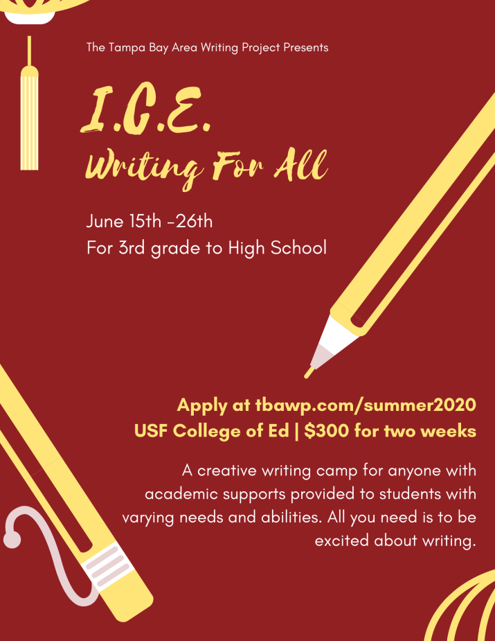 I.C.E. Writing For All